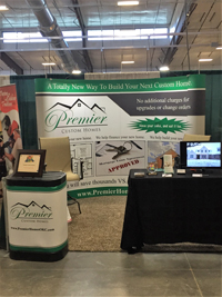 Premier Custom Homes' Booth